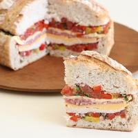 Six Layer Sourdough Club on MyRecipeMagic.com. This sandwich is amazing!!