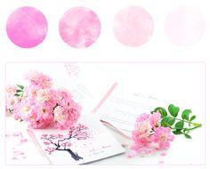 Pink / Fuchsia wedding invitation cards Partecipazioni inviti matrimonio color rosa e fucsia Rose Hochzeitseinladungskarten by e-MoVeo cards www.emoveo-cards.com