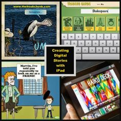 Creating Digital Stories with iPad - a list of apps, many with annotations.