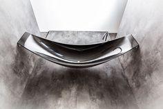 splinter works vessel hammock shaped carbon fibre bathtub designboom