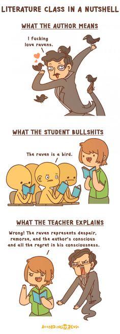 Literature class in nutshell