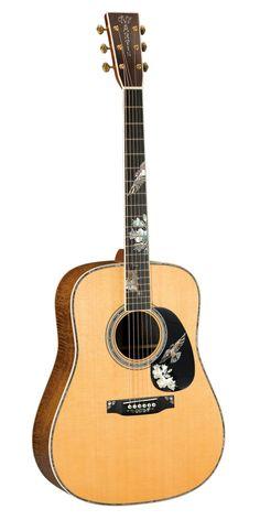 Martin D41K Purple Martin Acoustic Guitar (with Case)