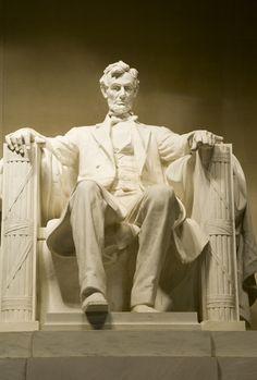 presid abraham, favorit place, abraham lincoln, inspiration, leadership, statues, washington dc, lincoln statu, lincoln memori