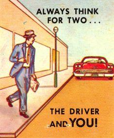 Scanning Around With Gene: Matchbook Wisdom on Traffic Safety   CreativePro.com