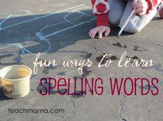 scienc idea, earli literaci, spelling activities, write, read, literacy activities, homeschool, blog