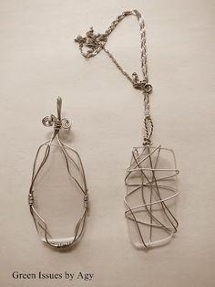pendants from glasses lenses