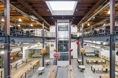 Gli uffici di Pinterest a San Francisco