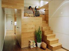 Space saving apartment design
