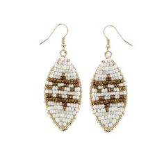 Shyanne® Women's Beaded Aztec Earrings