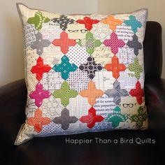 Palatina Pillow - Happier Than A Bird Quilts