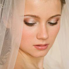 Pretty wedding makeup