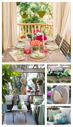 Now let's move the party outside!  @Daniel Morgan Grady Faires is here to share his DIY and design ideas from the HGTV Spring House.