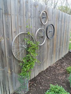 Old Bike Wheels { 21 amazing ideas }