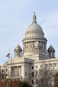 RHODE ISLAND State Capitol PROVIDENCE       #VisitRhodeIsland