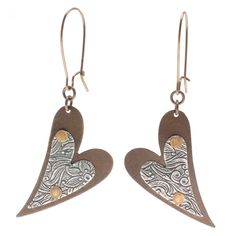 Tutorial - How to: A Pair of Hearts Earrings | Beadaholique