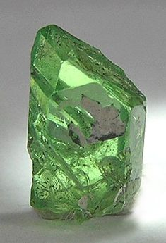 Tsavorite garnet. The rarest and most prized of garnet gemstones