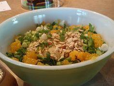 salad haters beware - My Kitchen Addictions manderine orange salad, salad hater, crunchi salad, garden salad