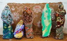 Women painting traditional art -Rajasthan, India by Chetan Soni