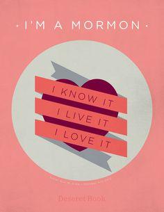 """I am a Mormon. I know it. I live it. I love it.""- quoted by Ann M. Dibb #ldsconf #lds #mormons #generalconference"