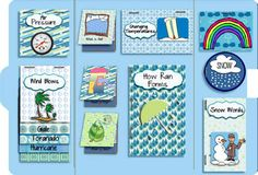 weather scrap lapbook  #homeschool #lapbook #teacher