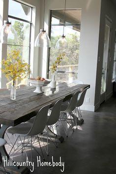 Modern Dining Room on Pinterest