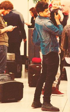 Zayn and baby Lux!
