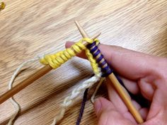 Provisional cast-on: crochet hook edition - LoveKnitting blog