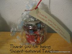 Scent-sational Teacher (Teacher Gift)