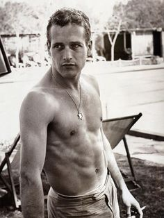 Paul Newman - those blues eyes get you every time!