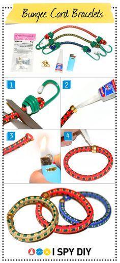 Bungee Cord Bracelets