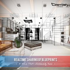 Share your #interiordesign requisition with us and we will sketch out a systematic plan to make a #home that's exclusively yours. Write to us today - contact@damiancorporate.com