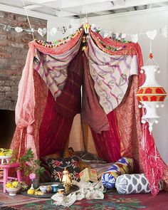 valentines day fort!
