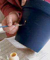 How To Paint Terra Cotta Pots & Planters