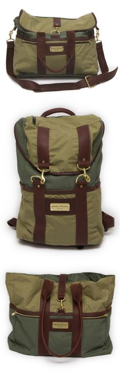 Sword and Plough - bags and other things made from recycled former military materials.