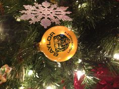 Love this classic #Baylor Christmas ornament