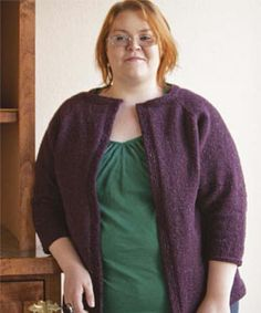 Knit Sweater Patterns: The Tweed Cardigan