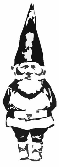 #Gnome #Stencil