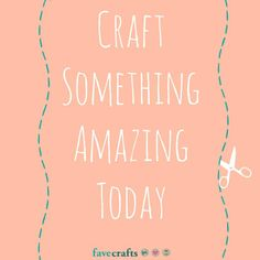 Craft Motivation