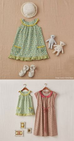 Free sewing pattern for toddler dress