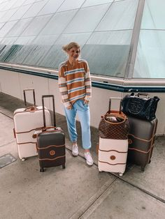 Delsey Luggage #travelstyle