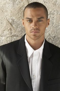 Jesse Williams. I LOVE HIS EYES