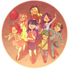 Friendship is Magic by Do0dlebugdebz.deviantart.com on @deviantART