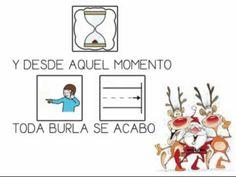 """""""Rodolfo el reno"""" - Canción con pictogramas ."""