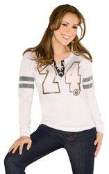 Kickoff Lace Up Tri-Blend Long Sleeve T-Shirt