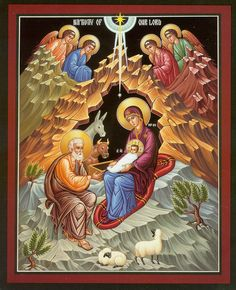 Image detail for -Eastern Christian Orthodox Nativity Icon