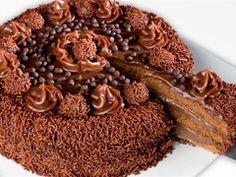 Bolo nega maluca - Brazilian chocolate cake.