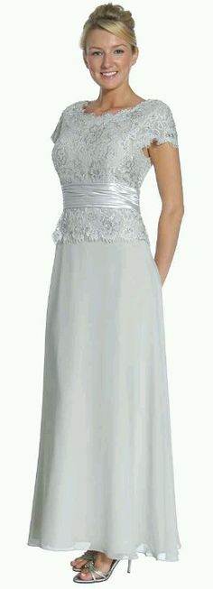 beautiful  for the bride's mother or groom's mother (in black)