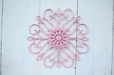 Cute wall decor for a pink themed party!