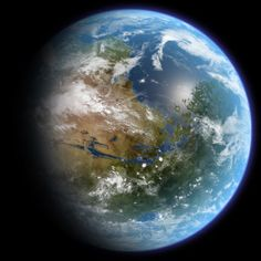 This is an artist's impression of habitable Mars (Daein Ballard / CC BY-SA 3.0)