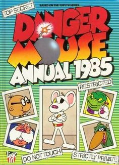 Old basic font from Danger Mouse via @CristianCagnol1